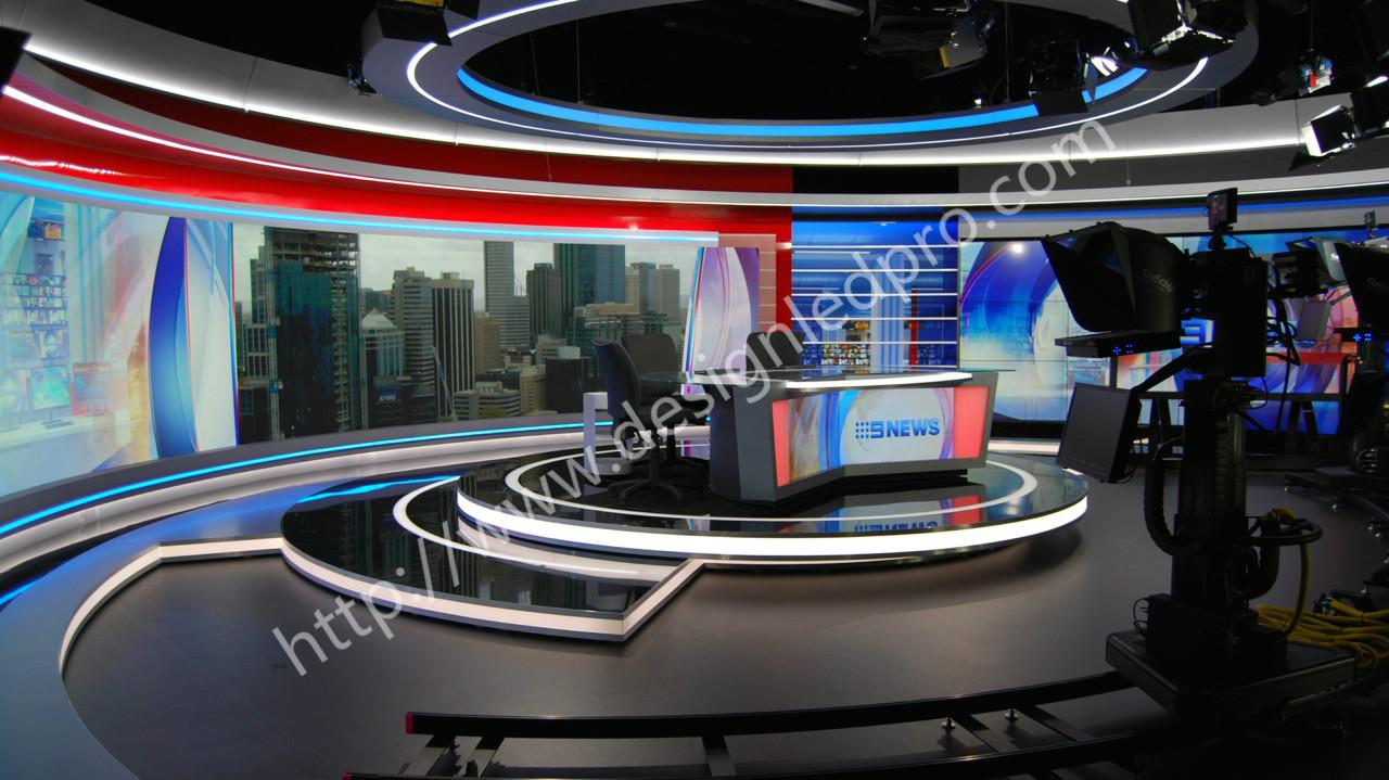Australian broadcaster 9 news perth update - DesignLED